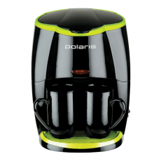 Кофеварка Polaris PCM 0210 Black Green